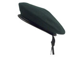 Rothco 45991 Black Wool Monty Beret