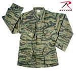 Rothco 4621 Rothco Vintage Vietnam Fatigue Shirt Rip-Stop - Tiger Stripe