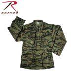 Rothco 4623 4623 Rothco Vintage Vietnam Fatigue Shirt Rip-Stop - Tiger Stripe