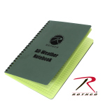 Rothco 463 Rothco All Weather / Waterproof 6'' X 8'' Notebook