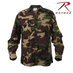 Rothco 4660 Rothco Hw Plaid Flannel Shirt-Woodland