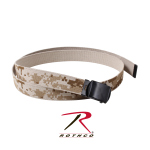 Rothco 4682 54'' Desert Digital Camo/tan Reversible Web Belt With Black Buckle