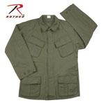 Rothco 4687 Rothco Vintage Vietnam Fatigue Shirt Rip-Stop - Od