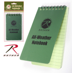 Rothco 470 Rothco All Weather / Waterproof 3'' X 5'' Notepad