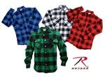 Rothco 4739 Extra Heavyweight Brawny Flannel Shirts