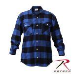 Rothco 4740 4740 Extra Heavyweight Brawny Flannel Shirts