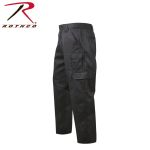 Rothco 4766 4766 Rothco Black R/S Tactical Duty Pants