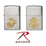 Rothco 4848 Military Crests Zippo Lighter