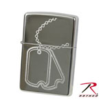 Rothco 4853 Dog Tag Zippo Lighter