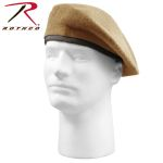 Rothco 4939 'Inspection Ready'' Beret - Tan - No Flash