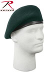 Rothco 4959 'Inspection Ready'' Beret - Green - No Flash