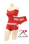 Rothco 4972 Women's Red Firefighter ''hot Booty'' Booty Shorts And<br> Women's Red Tank Top