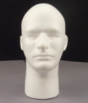 Rothco 503 Rothco Male Foam Head With Face