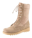 "Rothco 5058 Rothco GI Type Ripple Sole Jungle Boot / 10"" - Desert Tan"