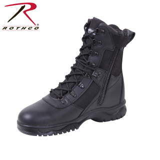 Rothco 5073 Rothco Insulated Side Zip Tact Boot / 8''-Blk