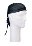 Rothco 5141 Black Leather Headwrap