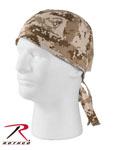 Rothco 5201 Desert Digital Camo Headwrap