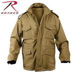 Rothco 5245 5245 Rothco Soft Shell Tactical M-65 Jacket-Coyote