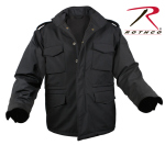 Rothco 5247 5247 Rothco Soft Shell Tactical M-65 Jacket-Black
