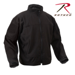 Rothco 5264 5264 Rothco Covert Ops Lt Weight Softshell Jkt-Blk