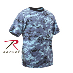 Rothco 5265 Rothco Kids T-Shirt - Sky Blue Digital Camo