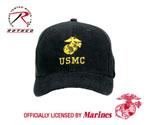 Rothco 5327 Black ?usmc? Insignia Cap
