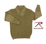 Rothco 5349 Rothco Wwii Vintage Mechanics Sweater - Khaki