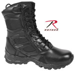 "Rothco 5358 Rothco Forced Entry Deployment Boot With Side Zipper / 8"" - Black"