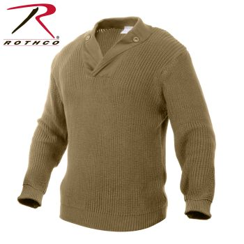 Rothco 5362 5362 Rothco Wwii Vintage Mechanics Sweater - Khaki