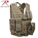 Rothco 5384 Rothco Kid's Tactical Cross Draw Vest-Multicam