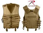 Rothco 5404 Rothco Molle Modular Vest - Coyote
