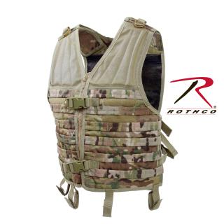 Rothco 5408 Rothco Molle Modular Vest - Multicam