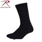 Rothco 5429 Black Crew Socks - King Size