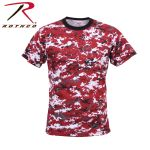 Rothco 5435 5435 Rothco T-Shirt / Digital Red Camo
