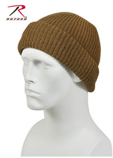 Rothco 5438 Watch Cap - Acrylic/Coyote Brown