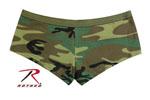Rothco 5476 Women's Blank Woodland Camo Booty Shorts