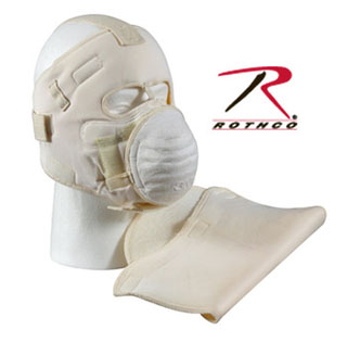 Rothco 5506 *g I White Snow Face Mask