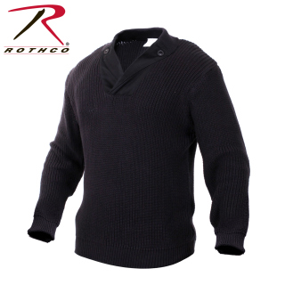 Rothco 55350 55350 Rothco Wwii Vintage Sweater - Black