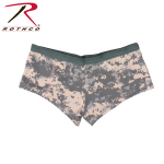Rothco 55476 Rothco Womens Booty Shorts - Acu Digital Camo