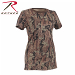 Rothco 5578 Rothco Womens Longer T-Shirt - Smokey Branch