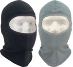 Rothco 5580 Polar Fleece One Hole Balaclava - Black/Foliage