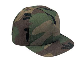Rothco 5600 Woodland Camo Kid's Adjustable Cap