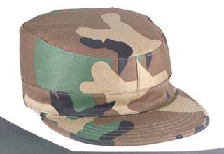 Rothco 5640 Woodland Camo Government Spec 2 Ply Army Ranger Fatigue Caps