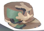 Rothco 5640 Woodland Camo Government Spec 2 Ply Army Ranger Fatigue Caps