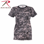 Rothco 5672 Womens Longer T-Shirt - Subdued Urban Digital