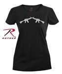 "Rothco 5679 Rothco Women's ""Crossed Rifles"" Longer T-Shirt"