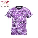 Rothco 5685 5685 Rothco T-Shirt / Digital Ultra Violet Camo