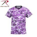 Rothco 5686 5686 Rothco T-Shirt / Digital Ultra Violet Camo