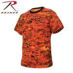 Rothco 5736 5736 Rothco T-Shirt / Digital Orange Camo