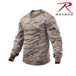 Rothco 5743 5743 Rothco Long Sleeve T-Shirt / Desert Digital